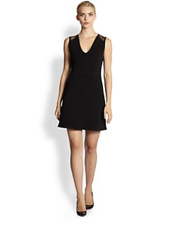 Yigal Azrouel - Stretch Techno/Mesh Dress
