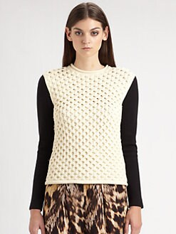 Yigal Azrouel - Honeycomb Sweater