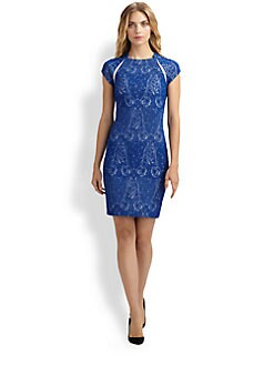 Yigal Azrouel - Paisley Jacquard Dress