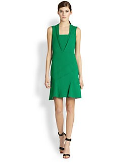 Yigal Azrouel - Paneled Stretch Jersey Dress