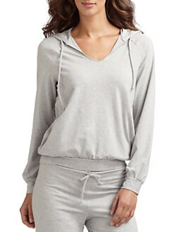 La Perla - Hooded Lounge Top