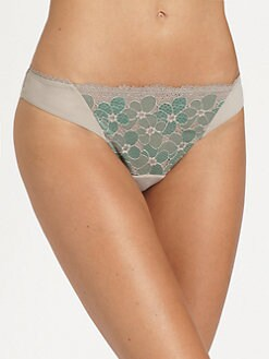 La Perla - Charming Flowers Brazilian Brief