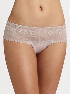 La Perla - Looking For Love Lace Thong Briefs