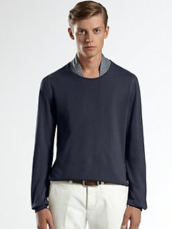 Gucci - Extrafine Cotton Crewneck