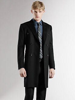 Gucci - Double-Breasted Wool Coat
