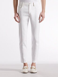 Gucci - Double Weave Twill Five-Pocket 1953 Pants