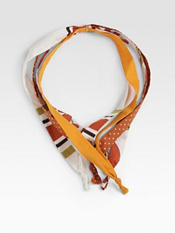 Gucci - Four String Collar Scarf