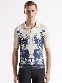 Gucci - Silk and Cashmere Polo