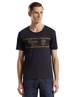 Gucci - Etichetta-Print Light Cotton T-Shirt