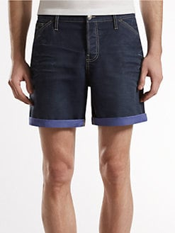 Gucci - Stonewashed Denim Shorts