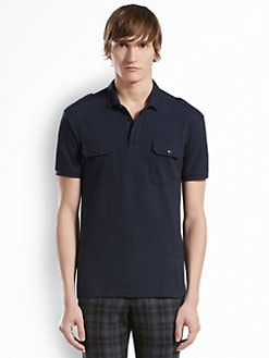 Gucci - Cotton Pique Polo
