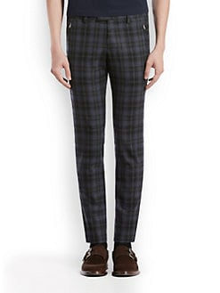 Gucci - Plaid Trouser