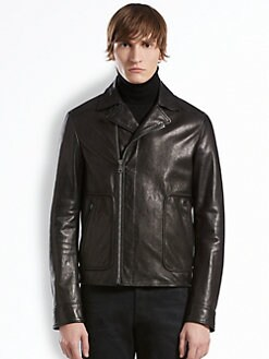 Gucci - Nappa Leather Biker Jacket
