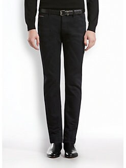 Gucci - Selvage Denim Five-Pocket Skinny Jeans