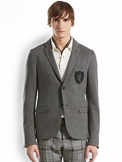 Gucci - Light Jersey Schoolboy Jacket