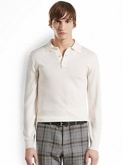 Gucci - Wool Silk Knit  Polo