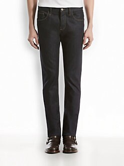Gucci - Softened Stretch-Denim Skinny Jeans