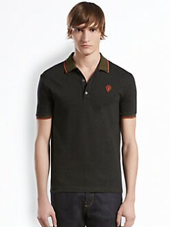Gucci - Cotton & Cashmere Jersey Polo