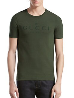 Gucci - Cotton Jersey Tee