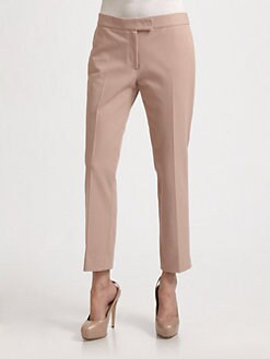 Joseph - Queen Gabardine Cropped Stretch Pants