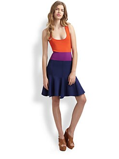 Sonia by Sonia Rykiel - Colorblock Tank Dress