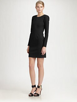 Sonia by Sonia Rykiel - Long-Sleeve Open-Back Dress