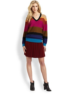 Sonia by Sonia Rykiel - Striped Wool Sweater