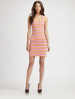 Sonia by Sonia Rykiel - Striped Jersey Tank Dress