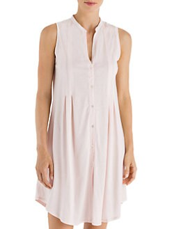 Hanro - Button-Front Tank Gown