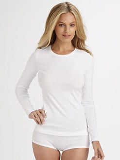 Hanro - Fine Line Long Sleeve Top