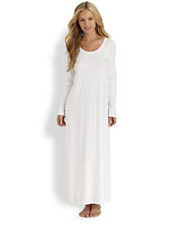 Hanro - Tonight Long-Sleeve Long Gown