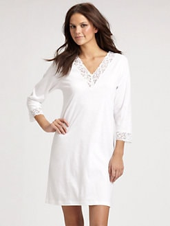 Hanro - Moments Three-Quarter Sleeve Sleepshirt