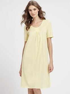 Hanro - Venus Short Sleeve Gown
