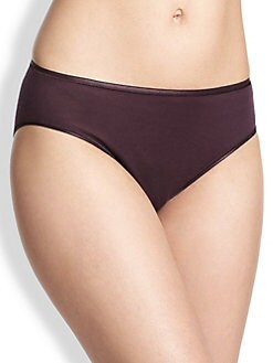 Hanro - Cotton Seamless Hi Cut Full Brief