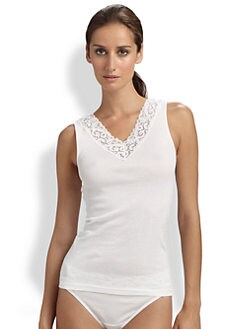 Hanro - Moments V-Neck Tank Top