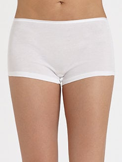 Hanro - Seamless Cotton Boyshorts