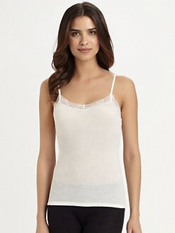 Hanro - Woolen Lace Camisole