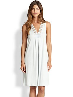 Hanro - Brooklyn Cotton Tank Short Gown <br>