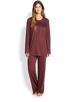 Hanro - Moma Cashmere & Cotton Pajama Set