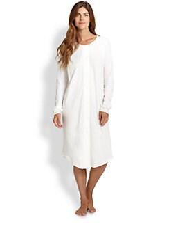 Hanro - Bronx Cotton Short Gown <br><br>
