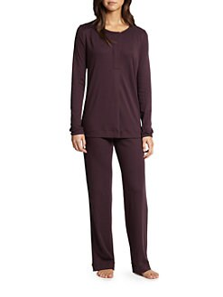 Hanro - Bronx Cotton Pajama Set <br>