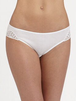 Hanro - Gwen Eyelet Cotton Bikini