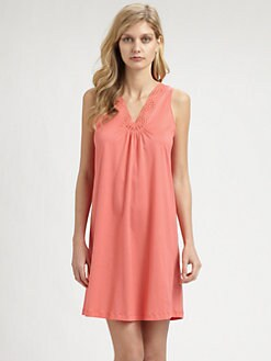 Hanro - Gwen Sleeveless Cotton Gown