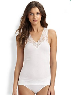 Hanro - Viola Lace-Trimmed Tank