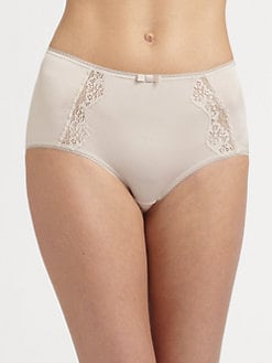 Hanro - Maud Lace-Trimmed Brief