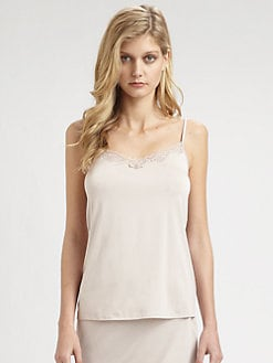 Hanro - Maud Lace-Trimmed Camisole