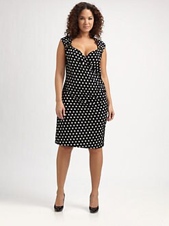 MICHAEL MICHAEL KORS, Salon Z - Polka Dot Knit Dress