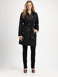MICHAEL MICHAEL KORS, Salon Z - Zip-Detail Trenchcoat