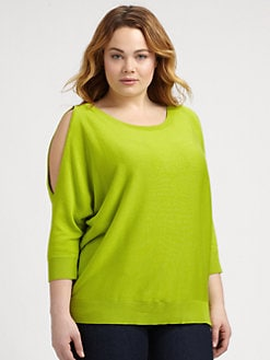 MICHAEL MICHAEL KORS, Salon Z - Cold-Shoulder Sweater