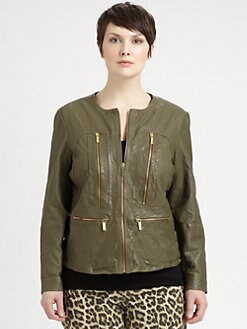 MICHAEL MICHAEL KORS, Salon Z - Leather Jacket